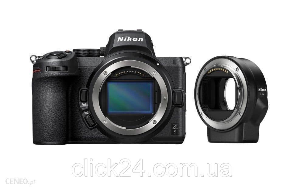 Nikon Z5 czarny + FTZ