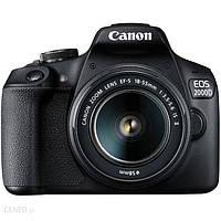 Canon EOS 2000D czarny + 18-55mm