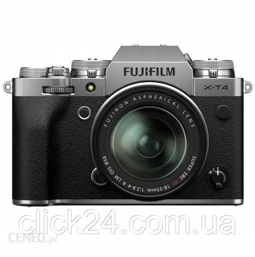 Fujifilm X-T4 czarny + 18-55mm