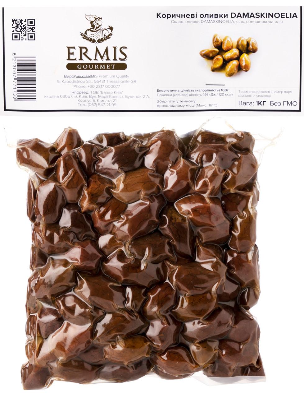 Оливки в'ялені DAMASKINOELIA, 500 грам