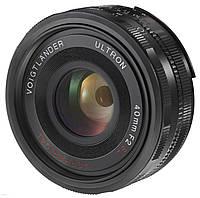 Voigtlander 40mm F/2.0 SL-II ULTRON Canon EOS