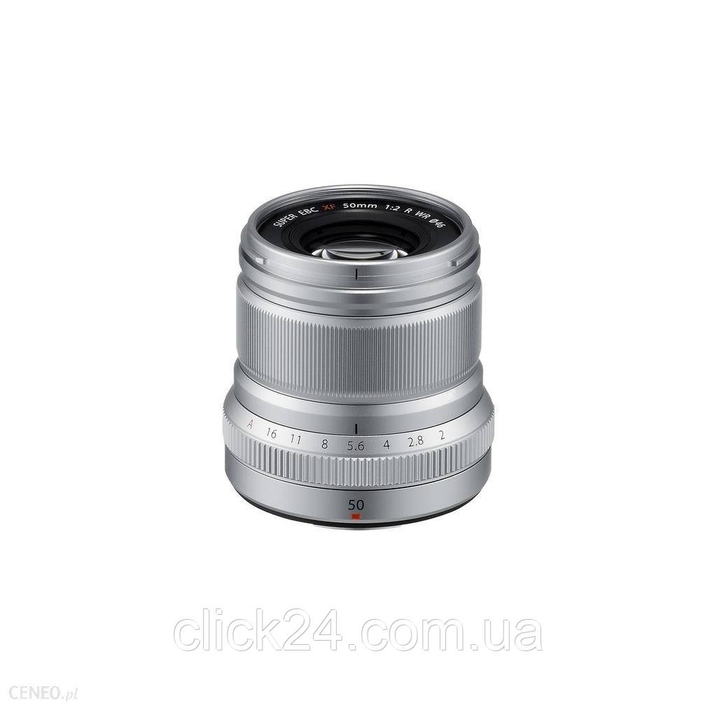 Fujinon XF 50mm f/2 R WR Srebrny