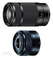 Sony E 35 mm f/1.8 + E 55-210 mm f/4.5-6.3 OSS czarny