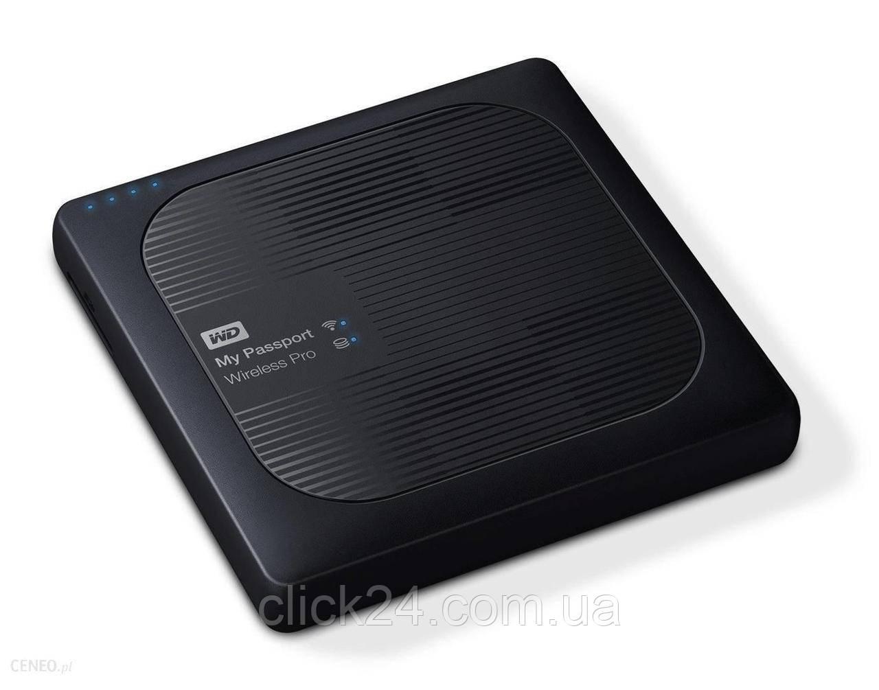 WD My Passport Wireless Pro 4TB Czarny (WDBSMT0040BBKEESN)