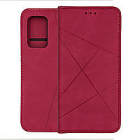 Чехол книжка для Samsung A52 противоударный с магнитом Avantis Case розовый