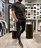 Мужской стильный спортивный костюм: футболка и штаны