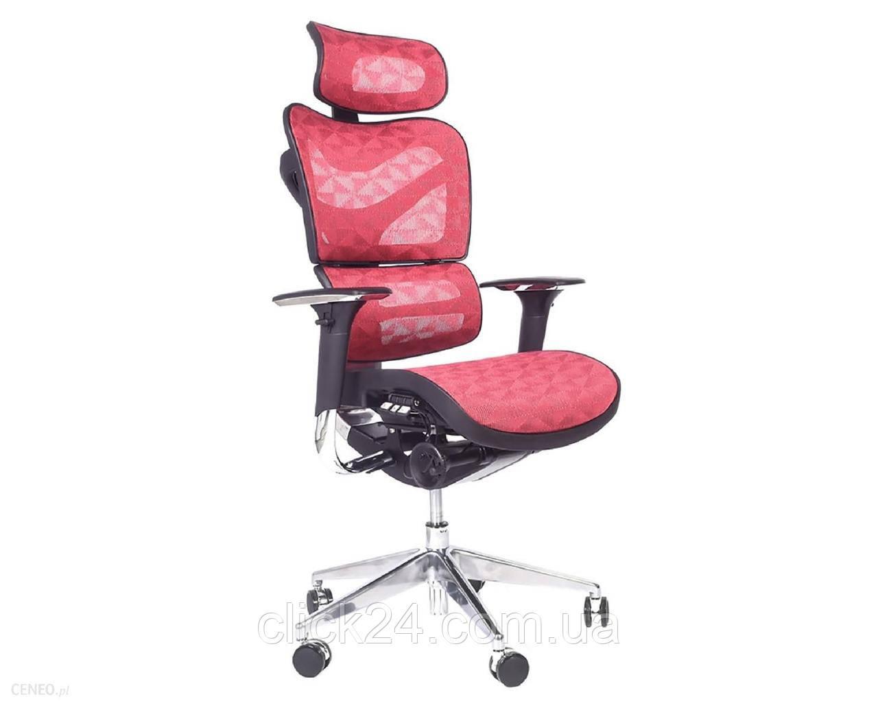 Bemondi Ergonomiczny Fotel Biurowy Ergo 700 Czerwony