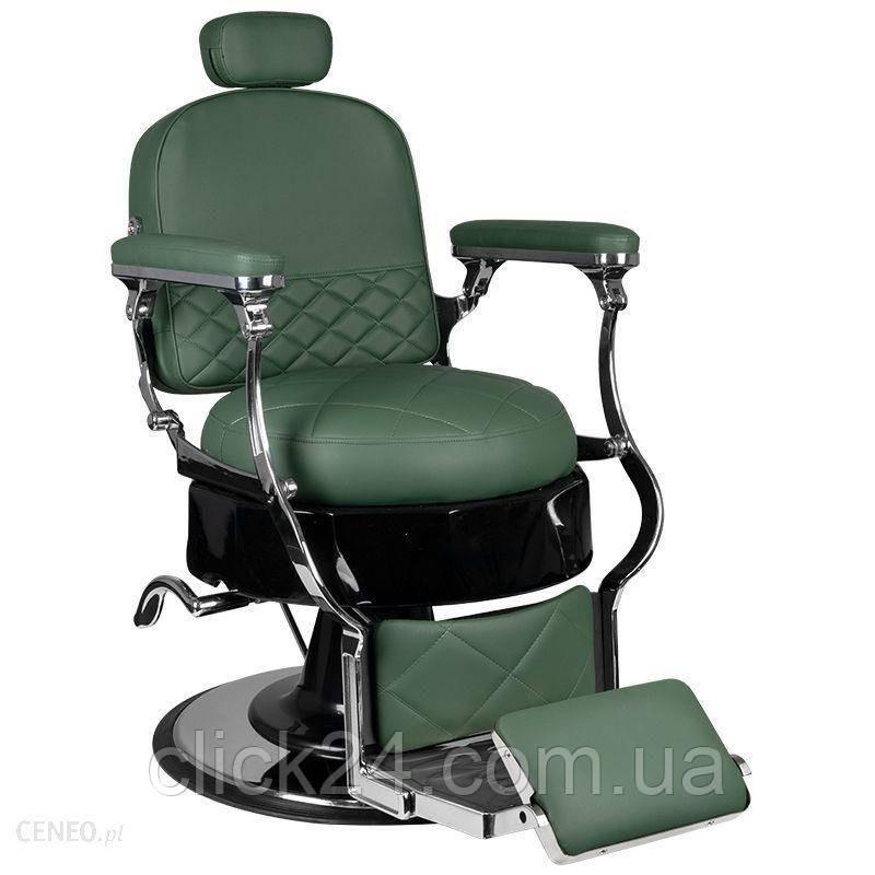 Activeshop Fotel Barberski Vito Zielony