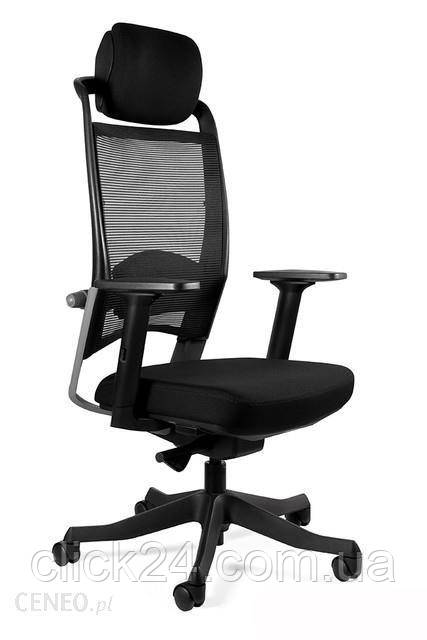Unique Fotel Ergonomiczny Fulkrum 17 Kolorów Bl414 Steelblue Sm02-Szara