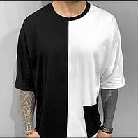Мужская стильная футболка с карманом, фото 1