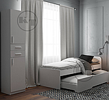 Односпальне ліжко 80 + 70 з додатковим спальним місцем, фото 2