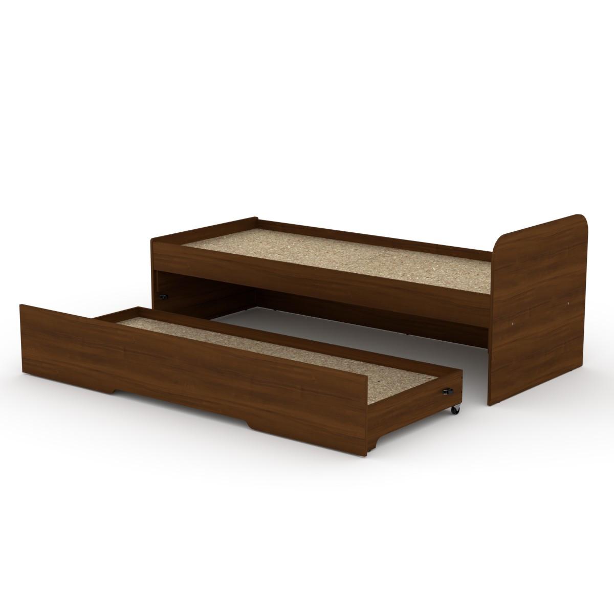 Односпальне ліжко 80 + 70 з додатковим спальним місцем