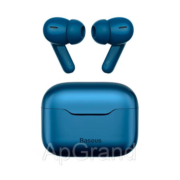 Навушники Baseus S1 Pro blue. Wireless charging