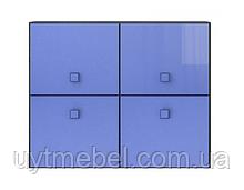 Тумба Аватар 4D венге м./синій (Гербор)