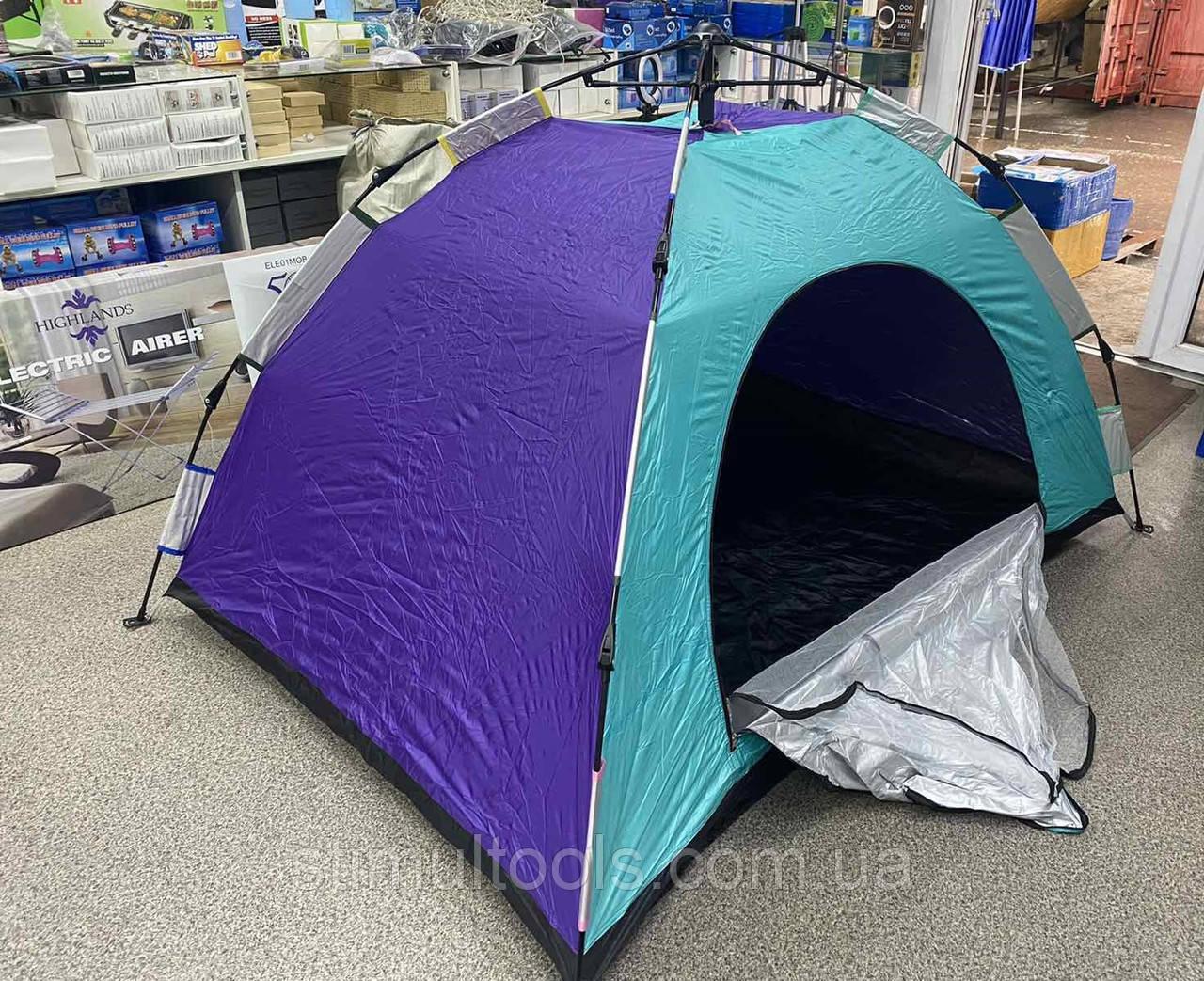 Палатка туристична тримісна 2*1.5*1.35 м