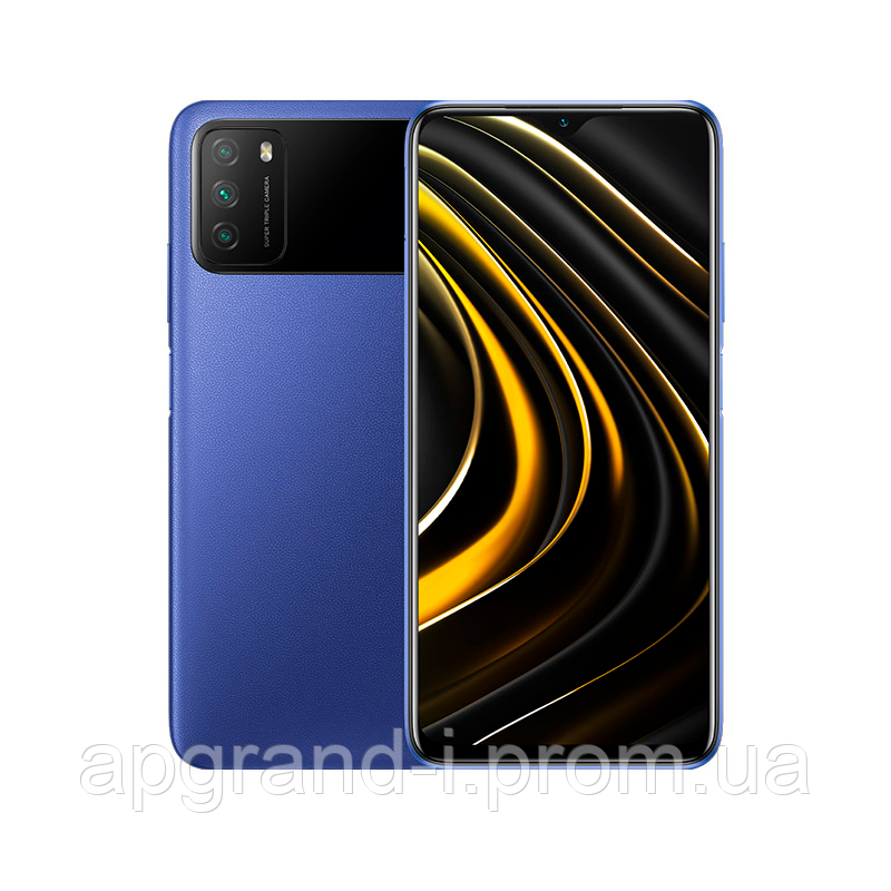 Xiaomi POCO M3 4/128Gb blue Global Version
