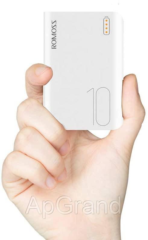 Банк заряду ROMOSS Sense 4 mini 10000mAh black