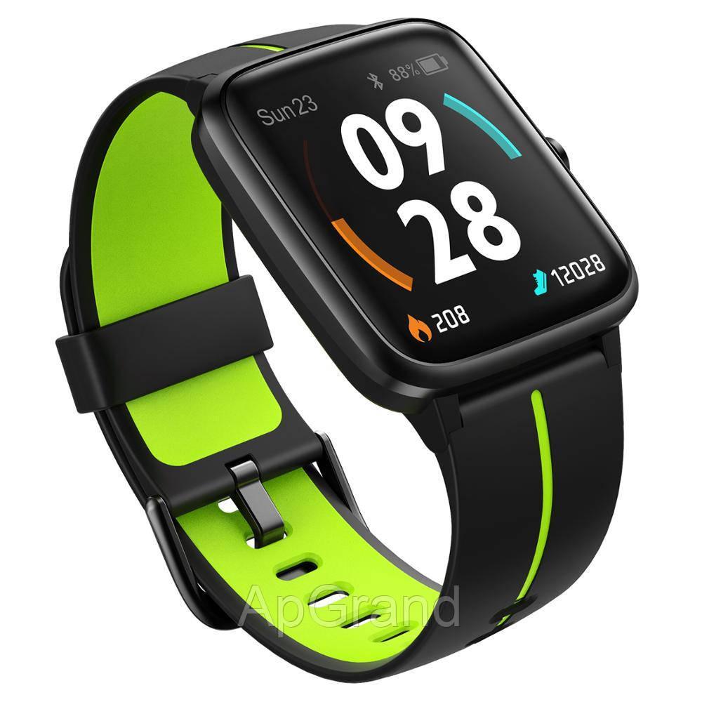 Смарт часы Ulefone Watch GPS black-green
