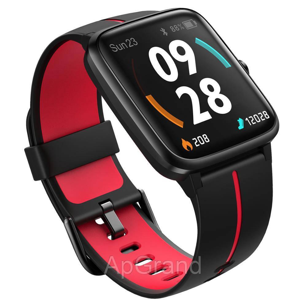 Смарт часы Ulefone Watch GPS black-red