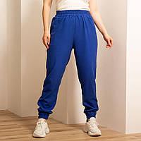 Льняные женские брюки  на резинке, фото 1