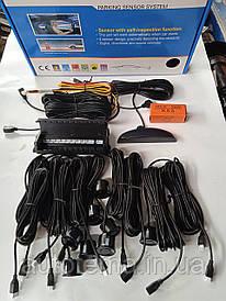Парктронік Parking Sensor System 8 датчика діаметр 22 мм Колір чорний
