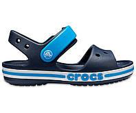 Детские босоножки J2 Crocs Крокс kids bayaband crocs для мальчика синий с голубым оригинал