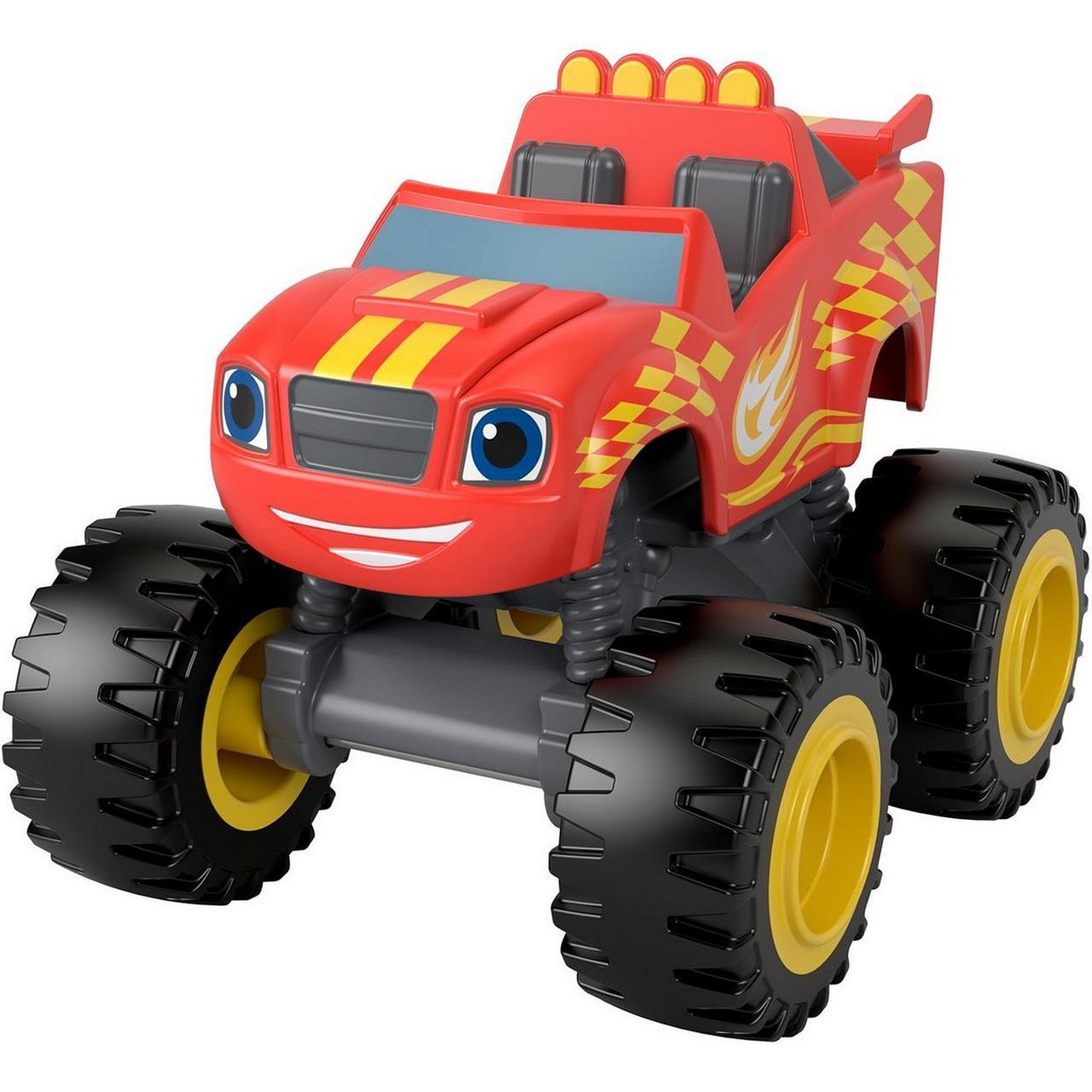 Машинка Вспиш і диво машинки Гоночний прапор Fisher-Price Blaze & the Monster Machines Blaze GVG61
