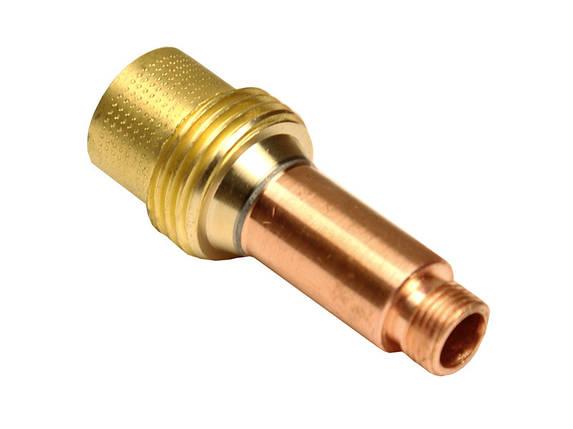 Корпус цанги с газовой линзой 1.6 мм для агоновых горелок WP-17/18/26, фото 2