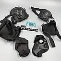 Комплект захисту для дорослих, налокітники, наколінники, рукавички+ШОЛОМ, фото 6