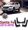 Бризковики MGC Hyundai Santa Fe Європа 2012-2018 р. в. комплект 4 шт 2WF46AC200, 868322W000, фото 5