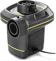 Електричний насос Intex 66634 від мережі і прикурювача (220-240 V, 12 V, 480 л/хв)