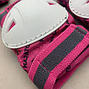 Фирменный комплект защиты, шлем Maraton+ наколенники, налокотники, перчатки, фото 8