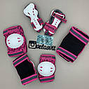 Фірмовий комплект захисту, шолом Maraton+ наколінники, налокітники, рукавички, фото 9