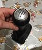 Ручка кпп с чехлом кулисы 5 ступеней VW Volkswagen Golf 4, Bora, Jetta серая 23 мм, фото 7