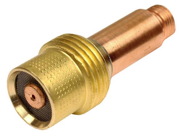 Корпус цанги з газової лінзою 2.4 мм для агоновых пальників WP-17/18/26, фото 2