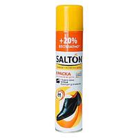 Salton Спрей краска-восстановитель для гладкой кожи черный, 300мл
