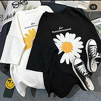 Женская стильная футболка с рисунком, фото 1