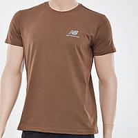 Мужская футболка New Balance (реплика) Коричневый