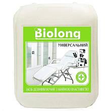 Средство для дезинфекции инструментов и поверхностей БиоЛонг Универсальный 4% 5000 мл (AIR000126)