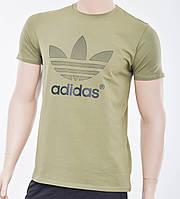 Мужская футболка Adidas (реплика) Хаки