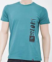 Мужская футболка Nike(реплика) зеленый