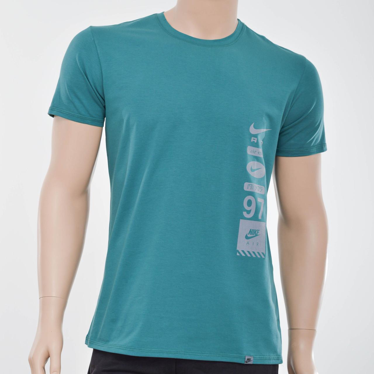 Чоловіча футболка Nike(репліка) зелений
