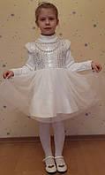 Платье нарядное с пайетками, теплое. Киев.Рост 90-120.