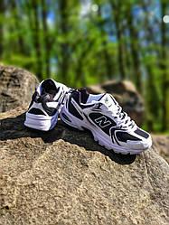 New Balance 530 White Black (Топ якість) Весна,  Жіночі Кросівки, Женская обувь