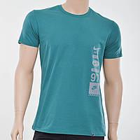 Мужская футболка Nike(реплика) бирюза