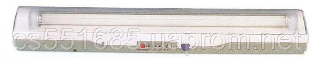REL-205 1x20_G13_T8 люминесцентной аварийный светильник (аккумуляторный) Delux (Делюкс)