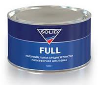 Наполнительная среднезернистая полиэфирная шпатлевка Solid Full 210 г