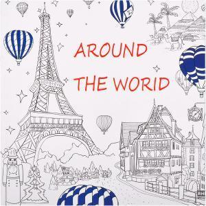 Розмальовка Антистрес Around the World