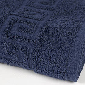Рушник Iris Home - Бордюр lacivert синій 70*140