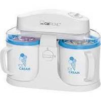 Морожениця автоматична CLATRONIC ICM 3650 апарат для приготування морозива електричний на 2 порції